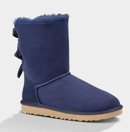 Wholesale 2016 Australia Classic NEW Womens Boots Bailey BOW Boots Snow Boots Classic Tall Short Baily Boots with High Quality