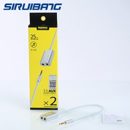 Wholesale Remax lines to m high quality audio yituo second audio cable data transmission cable IOS9 android general DHL