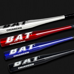 High Strenght Training Softball Baseball Bat Stick Aluminum Baseball Bat Hard Ball stick 25 28 inch Black Slivery Blue Red