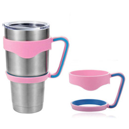 Wholesale New Handle for oz YETI Rambler Tumbler Yeti Cup Accessories Colorful Handles colors available Epacket
