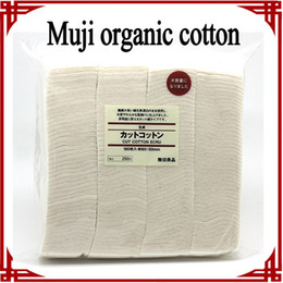 Wholesale big sale organic cotton japanese muji cotton unbleached cotton Pad Wick Nature Cotton for rda rba Atomizer coil makeup cotton