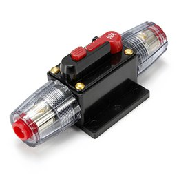 Wholesale A AMP Car Audio Circuit Breaker Inline Fuse Holder for V System Protection