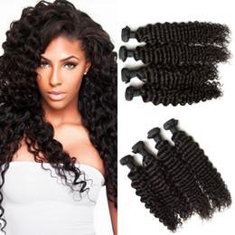 Mongolian Deep Wave Hair Mongolian Virgin Remy Hair Extensions Unprocessed Virgin Mongolian Hair Deep Curly Weaves G-EASY