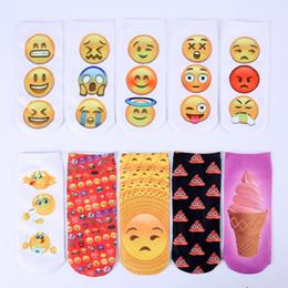 DHL Shipping Emoji Socks Women Sock Slippers Women's Socks Ankle Socks For Women Girls Socks Autumn Winter Socks Cotton Socks Low Cut Socks