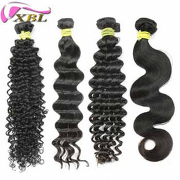 New Indian Human Hair Style Virgin Curly Loose Body Deep Wave Body Wave 8-24 Inch Virgin Human Hair Bundles Fedex Free Shipping