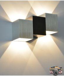 Wholesale Wall Light Indoor light LED COB Wall Lamp W AC110V V Home Decorate Sconce bedroom Corridor Light