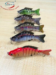 Wholesale 9 cm g sections Best Popular Fishing Lure Hard Lure Soft Fins