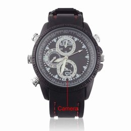 2017 mémoires vidéo Sports Spy Camera Watch avec mémoire de 4 Go - Montre USB 4 Go Spy Camera DV Waterproof Watch Video 1080 Recorder Caché mémoires vidéo sur la vente