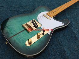 Wholesale New Arrival Custom Shop Electric Guitar Merle Haggard Signature Tuff Dog Excellent Quality SUPER RARE Green color