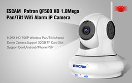QF500 1MP HD WIFI Microphone Alarm PnP Onvif H.264 Micro SD indoor IP Camera PTZ