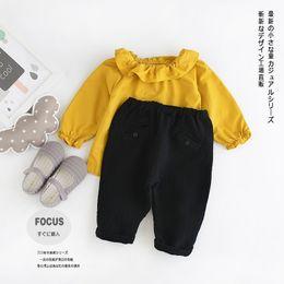 Wholesale Cotton Collapse - wholesale new 2016 spring Autumn girls boys pants Children's trousers cotton casual pants collapse