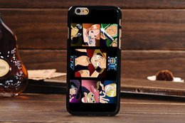 Wholesale Hot Famous Anime ONE PIECE Luffy Cute Carton Monkey D Phone Back Skin Case For Apple iPhone S inch DHL MOQ
