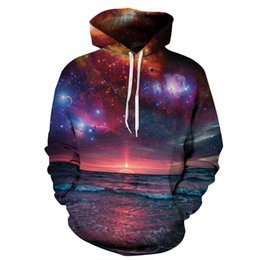 Youthcare Hoodie for Men and Women 3D printed Dark Sunset Hoodie Oversize Pullover Long sleeve tops Sweater