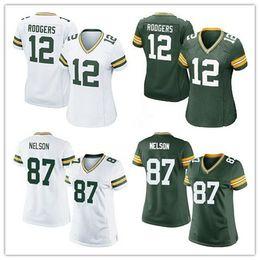 Wholesale Discount Price Women Elite Packers jerseys cheap football jerseys Green Bay Aaron Rodgers Jordy Nelson Clay Matthews green white