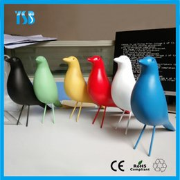 Wholesale Novelty Decor Vitra Eames House Bird Home Arts Crafts Creative Bird Furniture Decoration Kids Room Living Room Best Gift