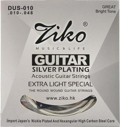 Wholesale ZIKO DUS Acoustic guitar strings silver plating guitar parts musical instruments Accessories