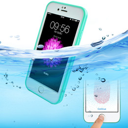 Shockproof Dustproof Underwater Diving Waterproof Cases Cover For iphone 5 5s 6 6S 6 Plus Phone Bag Shell Outdoor Phone Cover