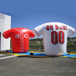 Wholesale Giant Novelty Inflatable Sports Shirt Inflatable Football Shirt for Advertising Promption