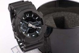 Nuevo reloj deportivo para hombre, reloj de marca de moda para hombre, relojes digitales y analógicos.