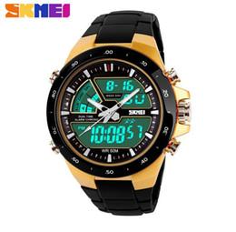 Fashion Skmei Sports Brand Watch Men's Digital Shock Resistant Quartz Alarm Wristwatches Outdoor Military LED Casual Watches