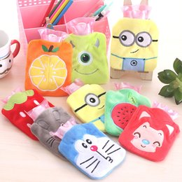 Wholesale Cute Kawaii Soft Warm Winter Bottle Cartoon Fresh Small Hot Water Filling Bag Container Hand Bag Promotional Gift