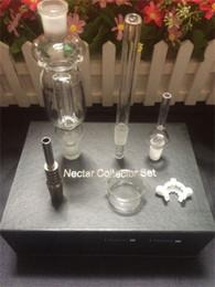 Eaux fraîches à vendre-2016 Kits New Nectar Collector Perc Pendentif avec Titanium Nail Quartz Nail Wearable Verre Bongs refroidi par eau et Étanche Top Qualité