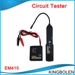 Wholesale EM415PRO Automotive Cable Wire Tracker Short Open Circuit Finder Tester Car Vehicle Repair Tone Tracer V DC Tool EM415 PRO