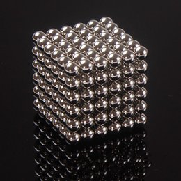 Wholesale 216pcs mm Magic Cube Magnetic Balls Puzzle Cube with metal box Adult Relax de stress Game Toys Birthday Present Gift Buck Balls
