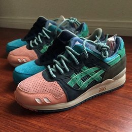 Wholesale Asics Gel Lyte III Homage H54FK Running Shoes For Womens And Mens Lightweight Breathable Athletic Sneakers Free Shiping EUR36
