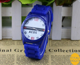 Wholesale 20 off discount Vogue New style Crocodile pattern fashion watch silicone sports watches men s watches Women decorated watch
