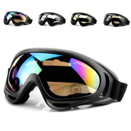 HOT Motorcycle Dustproof Ski Snowboard Sunglasses Goggles Lens Frame Eye Glasses Tactical protective glasses 6 Colors Free Shipping