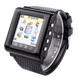 Wholesale New Smartwatch GSM AK812 Unlocked Smart Watches Phone quot Touch Screen Support SIM TF FM Radio MP3 Bluetooth Mobile Watch Telephone