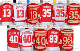 Wholesale Detroit Men s Authentic Pavel Datsyuk Jimmy Howard Henrik Zetterberg Johan Franzen Hockey Jersey