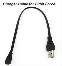 USB Charging Cable for Fitbit Force Wristband Power Charging no reset function wholesale