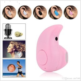 Wholesale New coming mini S530 wireless bluetooth earphone stereo headset noise cancelling S530 mini earbuds with mic fit for any bluetooth phones