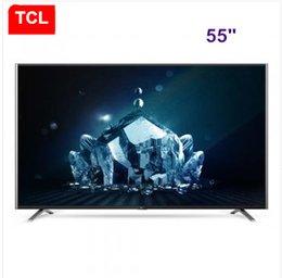 TCL 55 inch Ultra HD 4 K intelligent LCD TV Ultra-thin ultra narrow TV free shipping!
