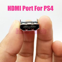 Wholesale HDMI Connector Port for Playstation PS4 Slim High Quality New HDMI Socket Interface for PS4 Game Console Replacement