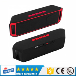 NEW A208 Mini Portable Bluetooth Speakers Wireless Smart Hands-free Speaker Big Power Subwoofer Support TF and USB FM Radio