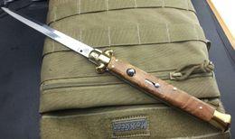Wholesale Italy AKC INCH AB White Kageki pocket knife folding knife camping knife gift knife for man freeshipping