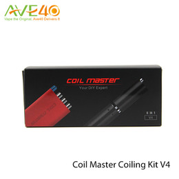 Coil Master Coiling Kit V4 update v3 6 in 1 kit 15 20 30 35 40mm Two ways twisting
