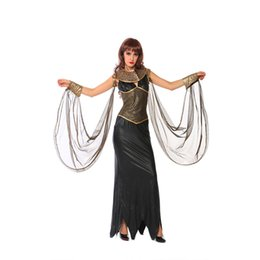 Halloween parties animation COSPLAY show adult female nightclub loaded female Wang Gaogui Cleopatra costume