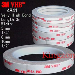 Wholesale 3M VHB Double sided Acrylic Foam Adhesive Tape industrial automotive Meters Long