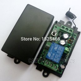 Wholesale DC V M RF Wireless Receiver Learning code Relay for EV1527 PT2262 ASK OOK Remote control