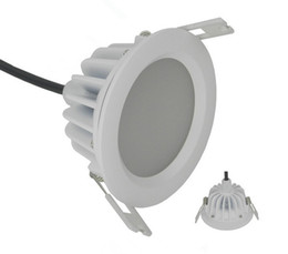 Factory Hot sale 12W Warm White Natural White Cold White bathroom waterproof IP65 led downlights recessed led lamp led light AC85-265V