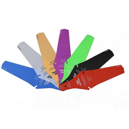 Wholesale Ass Saver Bike Cycling Race Fender MTB Road Commuter Bicycle Saddle Mudguard Ass Rear Fender Removable Parts Factory DHL A