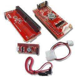 T 5pcs Pata IDE de 2,5 pulgadas SATA A 7Pin 44 pin HDD disco duro del controlador convertidor adaptador encaja en paralelo ATA 100 133 HDD adaptador CD DVD desde pata ide dvd fabricantes