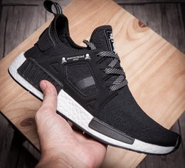 Wholesale without box quality NMD runner PK R2 MASTERMIND Japan Skull and crossbones shoes man women