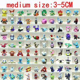 Wholesale Poke Medium Action Figures Toys cm Model Monster Toy For Children torchic Mewtwo Groudon Charmander eevee Pikachu Doll Little Figurine
