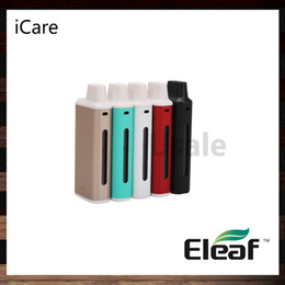 Wholesale Eleaf iCare Starter Kit ml Internal Tank Airflow System With mah Battery Intuitive Three Color LEDs ohm IC Head Original