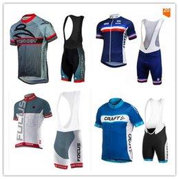 Wholesale 2016 Focus Cycling Jerseys Short Sleeves Summer Cycling Shirts Cycling Clothes Bike Wear Comfortable Breathable Hot New Rapha Jerseys xl xl